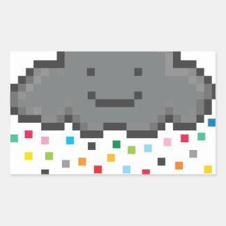 pixel-shower-cloud-multicolour.png pegatina rectangular