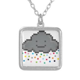 pixel-shower-cloud-multicolour.png square pendant necklace
