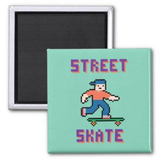 Pixel Skater Magnet