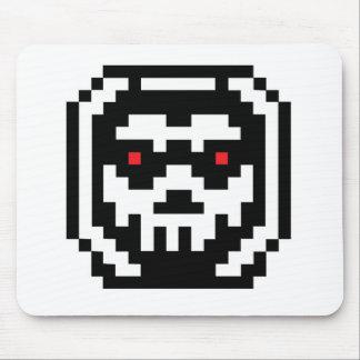 Pixel Skeleton Skull Mouse Pad