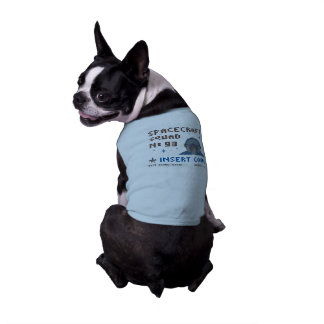 Pixel Space Squad Doggie Ribbed Tank Top Pet Tee Shirt