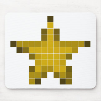 Pixel Star Mouse Pad