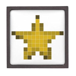 Pixel Star Premium Keepsake Box
