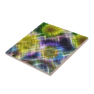 Pixel Stars Ceramic Tiles
