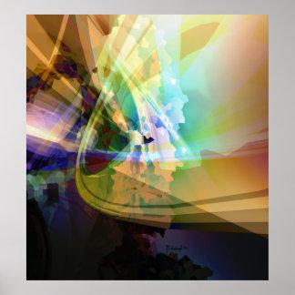 Pixel symphony print