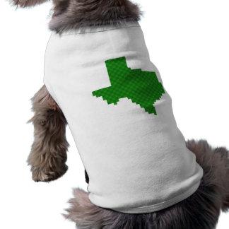 Pixel Texas Dog T Shirt