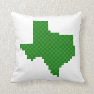 Pixel Texas Throw Pillows