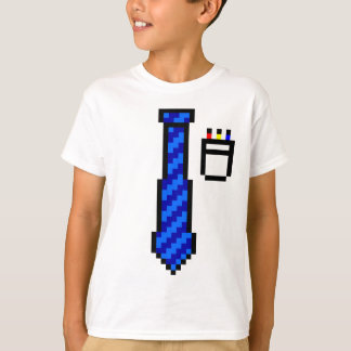 Pixel Tie and Pocket T-Shirt