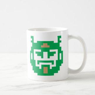 Pixel Troll Classic White Coffee Mug