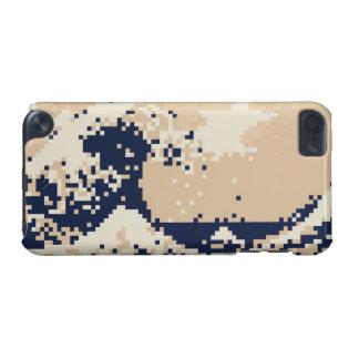 Pixel Tsunami 8 Bit Pixel Art iPod Touch 5G Case