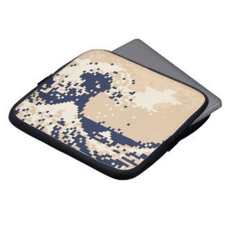 Pixel Tsunami 8 Bit Pixel Art Laptop Computer Sleeves