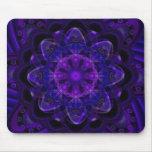 Pixel ULTRAVIOLETA púrpura oscuro del fractal Alfombrilla De Ratón