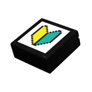 Pixel Wakaba/marca de Shoshinsha Joyero Cuadrado Pequeño