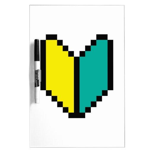 Pixel Wakaba/marca de Shoshinsha Tablero Blanco