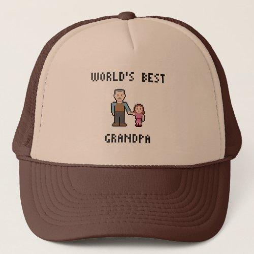 Pixel Worlds Best Grandpa Hat