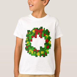 Pixel Wreath T-Shirt