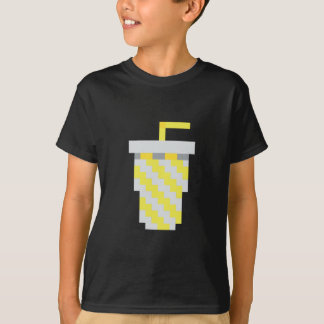 Pixel yellow soda cup T-Shirt