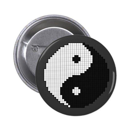 Pixel Yinyang Button