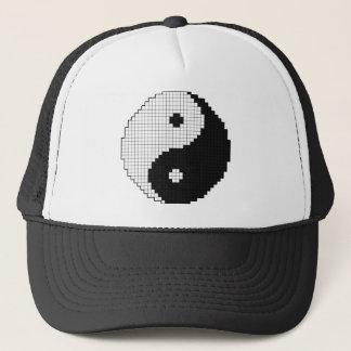 Pixel Yinyang Hat
