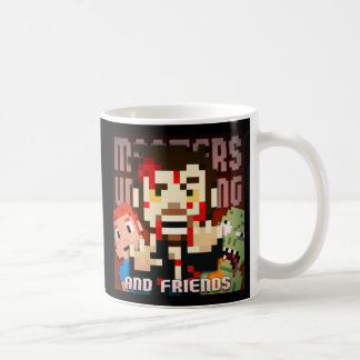 Pixelart Zombie Claw MoU Blockheads Coffee Mug