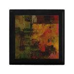 Pixelated abstracto cajas de recuerdo