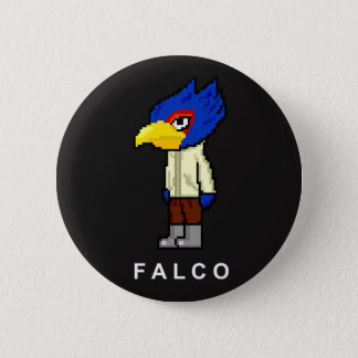 Pixelated Falco Button