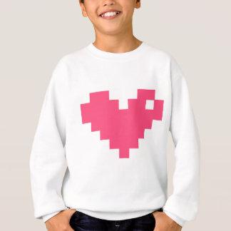 Pixelated Love Sweatshirt