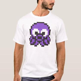 Pixelated Purple Octopus T-Shirt