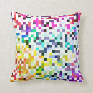 Pixelated Throw Pillow