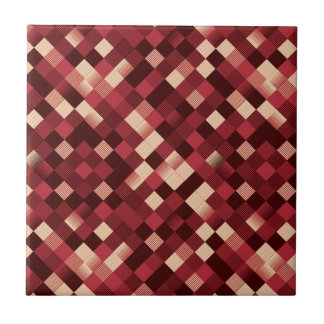 pixelated ceramic tiles