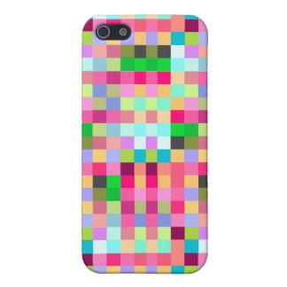 Pixelation 8-bit Speck iPhone 4 Case Color