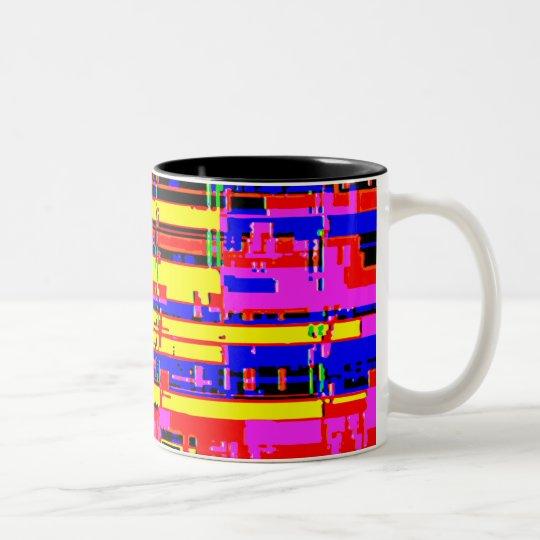 PixelBlock2 Two-Tone Coffee Mug