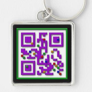 Pixeles I <3, pixeles del corazón de I Llavero Personalizado