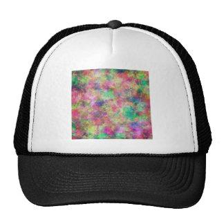 Pixeles pintados gorra