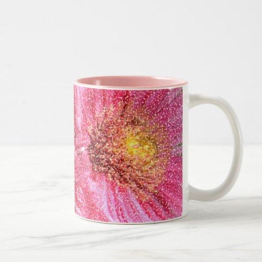 Pixeles rosados el | tazas