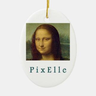 Pixelle woman