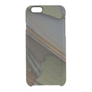 PIXELS ABSTRACT SLATES MANDELBULB 3D. FRACTAL IMG CLEAR iPhone 6/6S CASE
