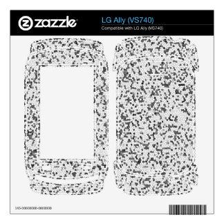 pixels cases skins for LG ally