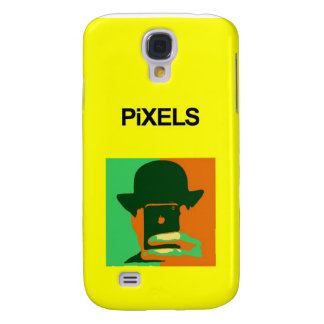 Pixels iPhone 3G/3GS Hard Shell Yellow Case