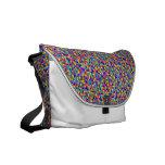 Pixels Messenger Bag