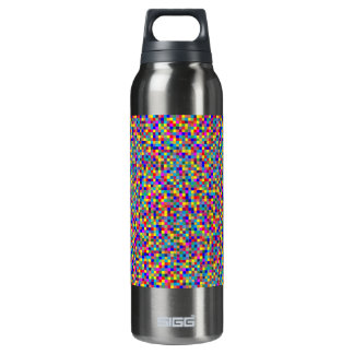 Pixels 16 Oz Insulated SIGG Thermos Water Bottle