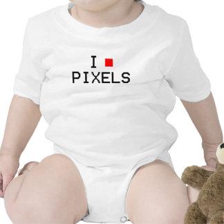pixels rompers