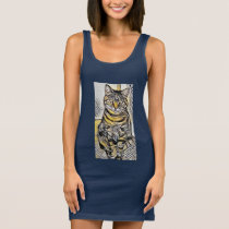 Pixie1 Art71 Sleeveless Dress