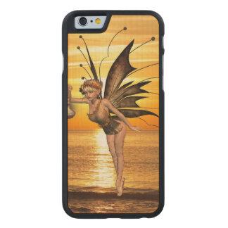pixie-12.jpg funda de iPhone 6 carved® slim de arce