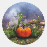 pixie-4 round sticker