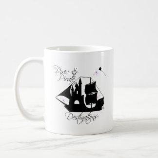 Pixie and Pirate Destinations Coffee Mug