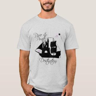 Pixie and Pirate Destinations Men's Shirt