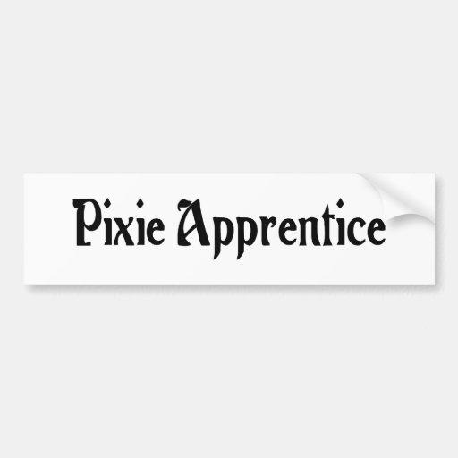 Pixie Apprentice Bumper Sticker Car Bumper Sticker
