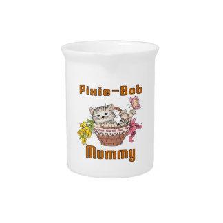 Pixie-Bob Cat Mom Beverage Pitcher