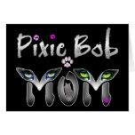 Pixie Bob Cat Mom Gifts Card